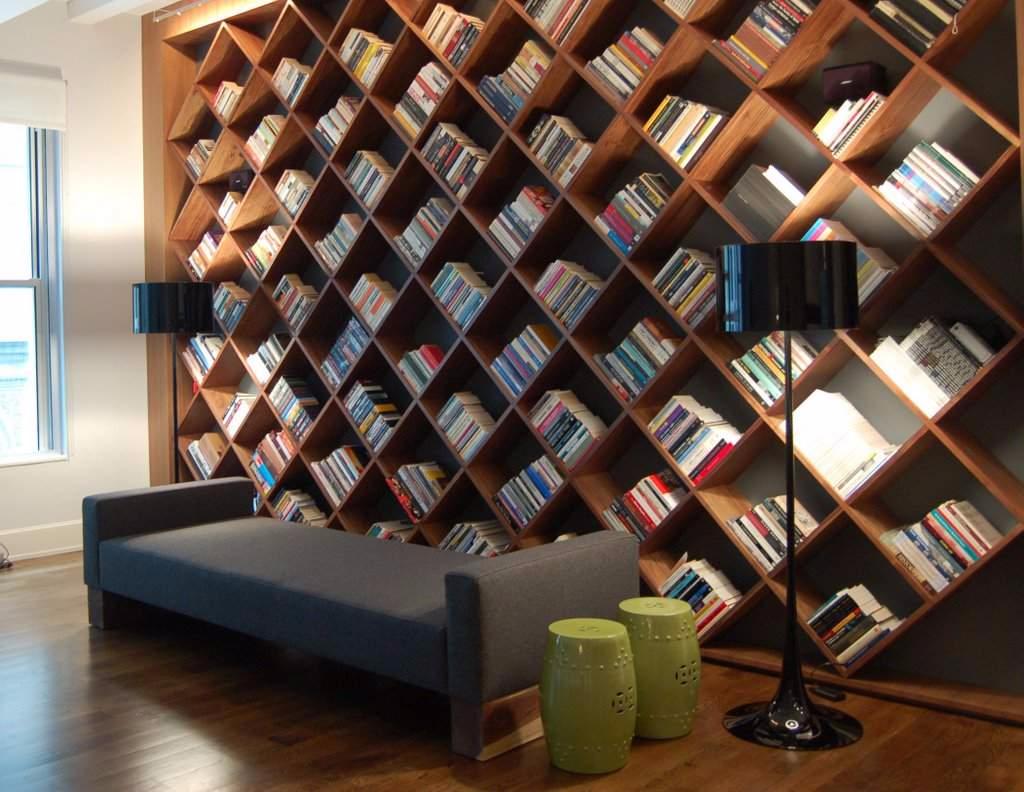 Custom Home Library Design